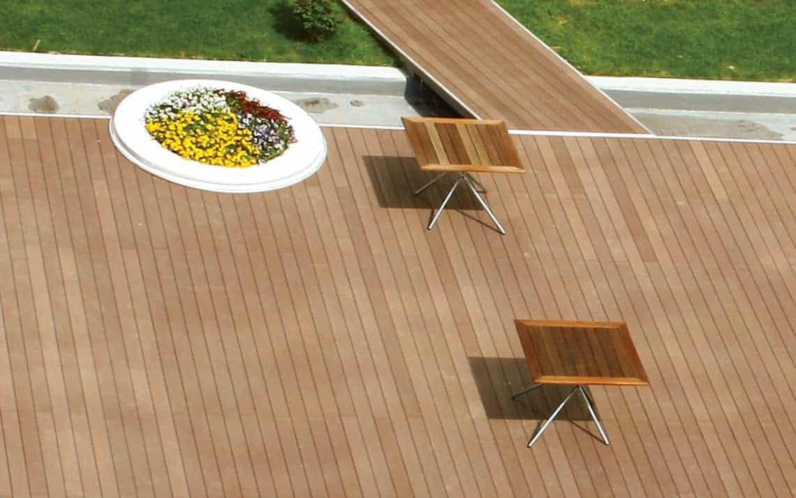 Kompozit Deck: Bahçe Zemin Kaplaması