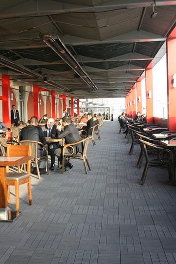 Acity Outlet Alışveriş Merkezi Teras Zemin Kaplaması