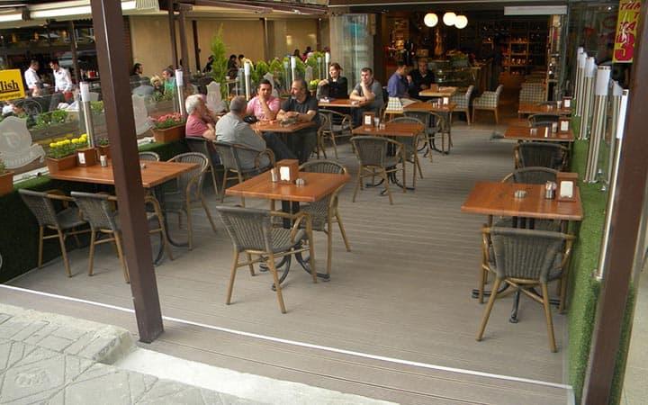 Anıttepe Cafe Zemin Döşemesi