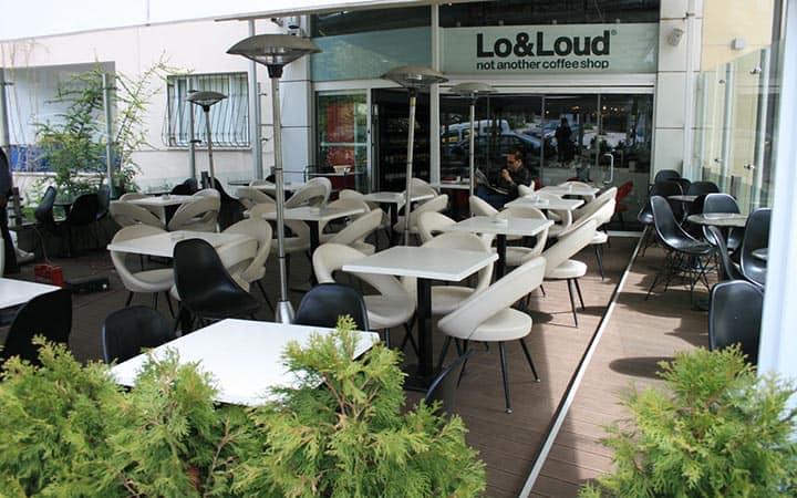 Lo&Loud Cafe Zemin Kaplaması